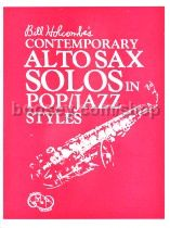 Contemporary Solos in Pop and Jazz Styles for Alto Sax