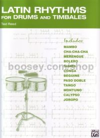 Latin Rhythms For Drums And Timbales Reed