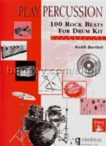 Play Percussion 100 Rock Beats Drum Kit