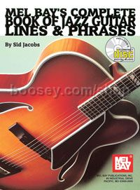 Complete Book of Jazz Guitar Lines & Phrases (Book & CD)