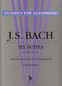 Cello Suites (6) Edt For Saxophone