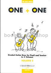 One + One, vol.3 Pupil's Part (Guitar Duet)