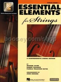 Essential Elements 2000 for Strings: Book 1 - Violin (Bk & CD/DVD)