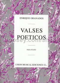 Valses Poeticos For Piano