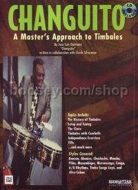 Masters Approach To Timbales Changuito (Book & CD)