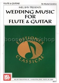 Wedding Music For Flute & Guitar Gendron