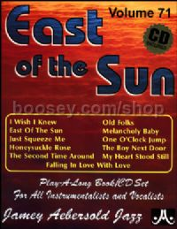 East of the Sun (Book & CD) (Jamey Aebersold Jazz Play-along)
