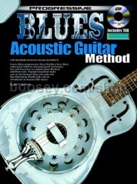 Progressive Blues Acoustic Guitar (Book & CD)
