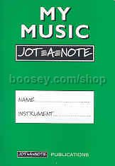 My Music Jot=a=note Green