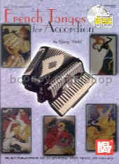 French Tangos For Accordion (Book & CD)