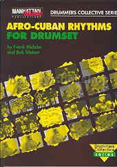 Afro-cuban Rhythms For The Drumset (Book & CD)