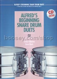 Alfred Beginner Snare Drum Duets (Book & CD)