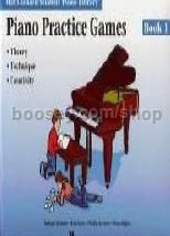 Hal Leonard Student Piano Library: Practice Games Book 1
