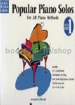 Hal Leonard Student Piano Library: Popular Piano Solos For All Methods 1