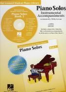 Hal Leonard Student Piano Library: Piano Solos Instrumental Accompaniments 3 (CD)