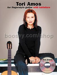 Tori Amos For Fingerstyle Guitar (Book & CD) (Guitar Tablature)