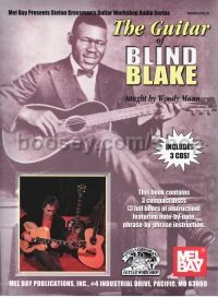 Blind Blake Guitar of ... Book/cd