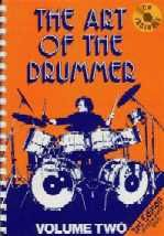 Art of the Drummer 2 Spiral Ed (Book & CD)
