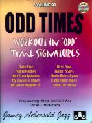 Odd Times Unusual Time Sig's Book & CD  (Jamey Aebersold Jazz Play-along)