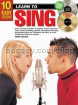 10 Easy Lessons Sing Book & CD & Free DVD