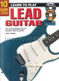 10 Easy Lessons Lead Guitar (Book & CD & Free DVD)