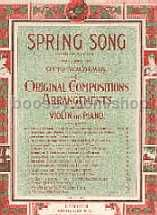 Spring Song Violin & Piano