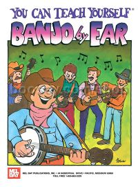You Can Teach Yourself Banjo By Ear (Book & CD)
