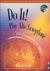 Do It Play Alto Sax Froseth (Book & CD)