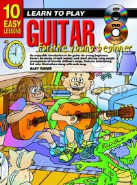 10 Easy Lessons Guitar Young Beginners (Book & CD & Free DVD)