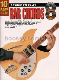 10 Easy Lessons Bar Chords (Book & CD & Free DVD)