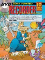 10 Easy Lessons Recorder Young Beginners (Book & CD & Free DVD)