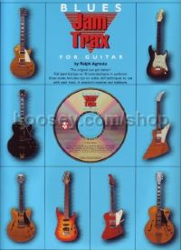 Jam Trax Blues (Guitar Tablature) (Book & CD)