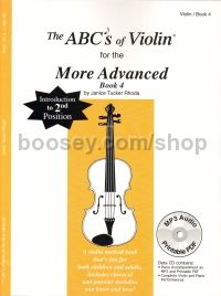 Abc's Of Violin 4 More Advanced Pupils Book