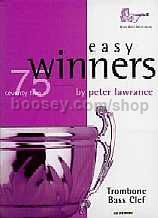 Easy Winners for Trombone (Bass Clef) (Book and CD)