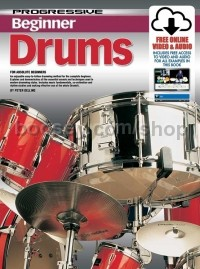 Progressive Beginner Drums (Book & CD & Free DVD)