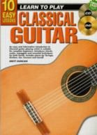10 Easy Lessons Classical Guitar (Book & CD & Free DVD)