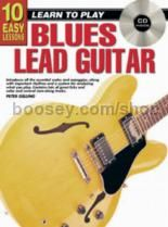 10 Easy Lessons Blues Lead Guitar (Book & CD)