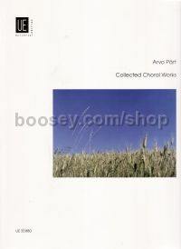 Collected Choral Works (SATB)