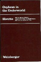 Orpheus in the Underworld Libretto