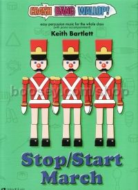 Stop/Start March for Percussion (Book & CD)