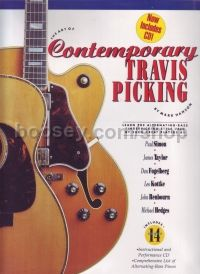 Art Of Contemporary Travis Picking hanson (Book & CD)
