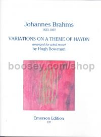 Variations On Theme Haydn Mixed Woodwind