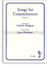 Songs for Countertenors vol.3