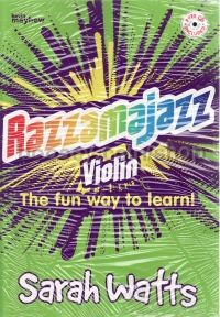 Razzamajazz Violin (Book & CD)
