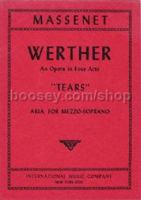 "Tears From ""werther"" Mezzo (fr/eng)"