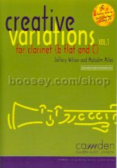 Creative Variations for Clarinet vol.1 (Book & CD)