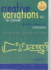 Creative Variations for Clarinet vol.2 (Book & CD)