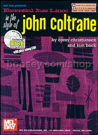 Essential Jazz Lines In Style of John Coltrane C