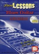 First Lessons Blues Guitar (Book & CD)