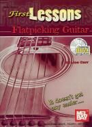 First Lessons Flatpicking Guitar (Book & CD)